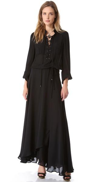 Haute Hippie Safari Gown