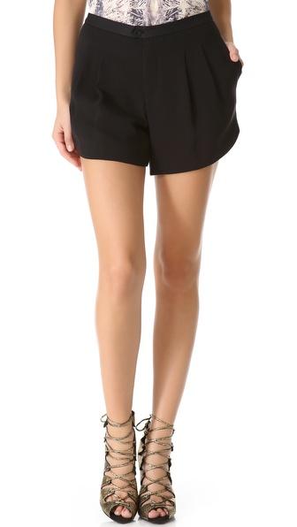 Haute Hippie Faille Shorts