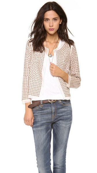Haute Hippie Beaded Jacket
