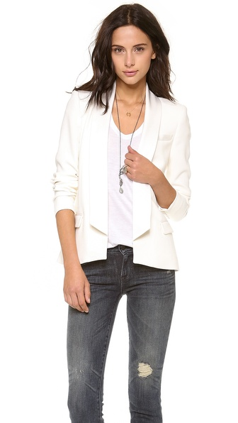 Haute Hippie Long Lapel Blazer