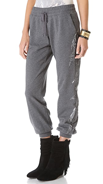 Haute Hippie Printed Sweatpants