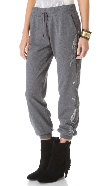 Haute Hippie Printed Sweatpants