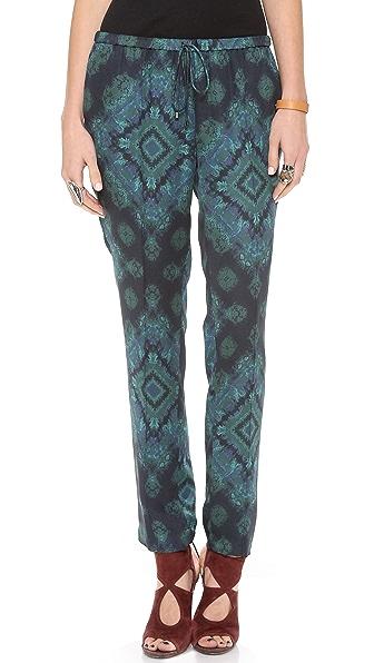 Haute Hippie Slim Slouchy Pants