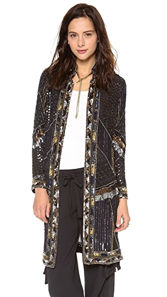 Haute Hippie Sequined Coat