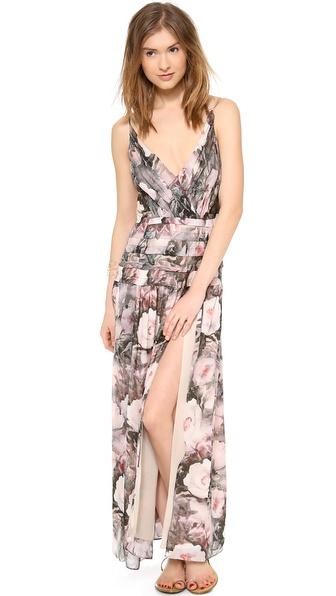 Haute Hippie Floral Gown