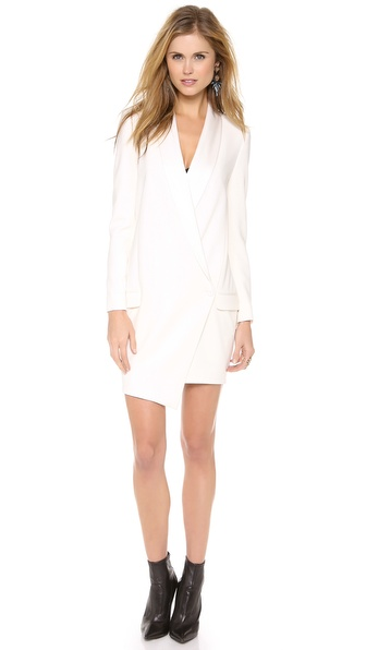 Haute Hippie Oversized Blazer Dress