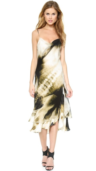 Haute Hippie Allover X Ray Sundress