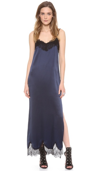 Haute Hippie Lace Maxi Dress