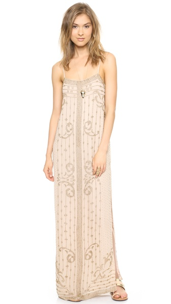 Haute Hippie Embellished Gown