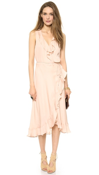 Haute Hippie Lay Me Down Halter Dress