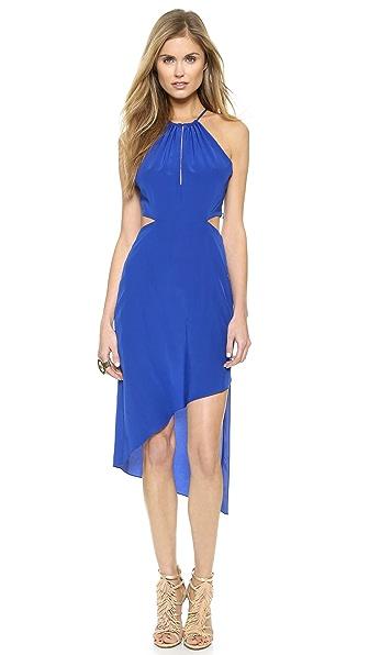 Kupi Haute Hippie haljinu online i raspordaja za kupiti Haute Hippie Twist Back Dress True Blue online
