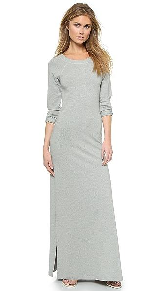 Kupi Haute Hippie haljinu online i raspordaja za kupiti Haute Hippie Sweatshirt Maxi Dress Light Heather Grey online