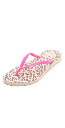 Shop Havaianas Slim Animals Fluoro Flip Flops and Havaianas online - Footwear,Womens,Footwear,Sandals, online Store