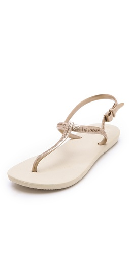 Havaianas Freedom T-Strap Sandals at Shopbop / East Dane