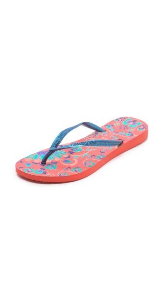 Havaianas Slim Paradiso Flip Flops