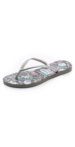 Havaianas Slim Floral Flip Flops at Shopbop / East Dane