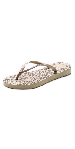 Havaianas Slim Leopard Flip Flops at Shopbop / East Dane
