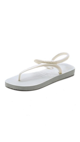 Havaianas Flash Urban Sandals - White at Shopbop / East Dane