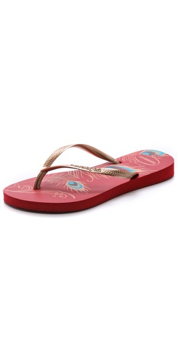 Havaianas Slim Peacock Flip Flops at Shopbop / East Dane
