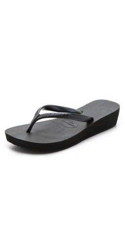 Havaianas High Light Wedge Flip Flops at Shopbop / East Dane