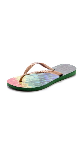 Havaianas Slim Tropical Flip Flops - Amazonia at Shopbop / East Dane
