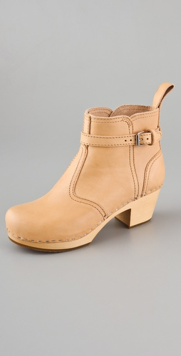 Swedish Hasbeens Jodhpur Classic Booties