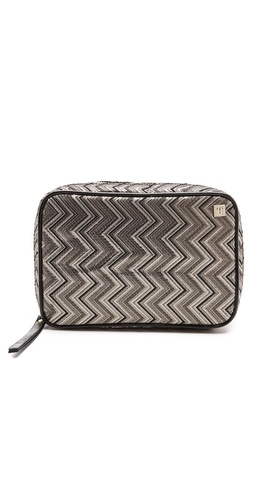 Hudson+Bleecker Chevron Cosmetic Case at Shopbop / East Dane