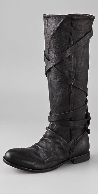 H by Hudson Patti Wrap Strap Boots