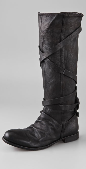 H by Hudson Patti Wrap Strap Boots