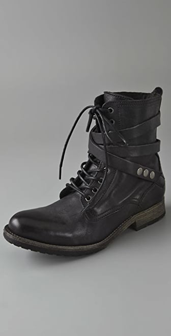 H by Hudson Alba Combat Boots