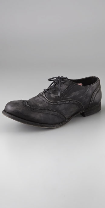 H by Hudson Charlie Wingtip Oxfords