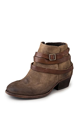 H by Hudson Horrigan Suede Wrap Strap Booties