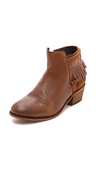H by Hudson Core Fringe Booties