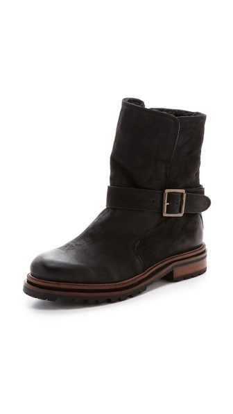 H by Hudson Tatham Lug Sole Booties
