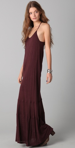 Heather Zip Back Maxi Dress