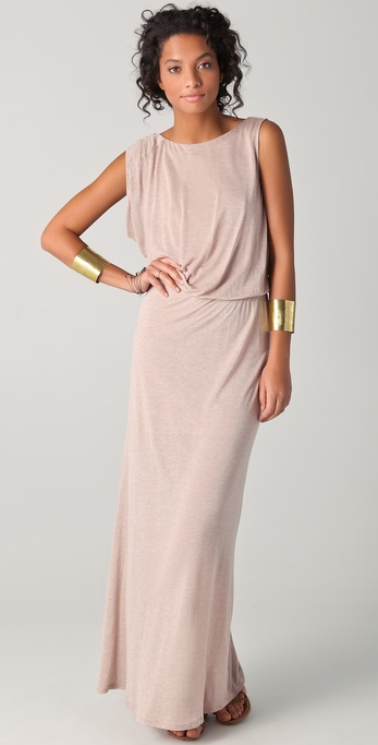 Heather Asymmetrical Maxi Dress