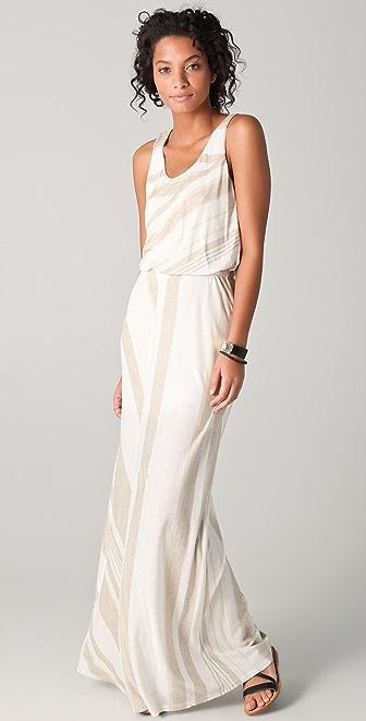 Heather Cinch Maxi Tank Dress