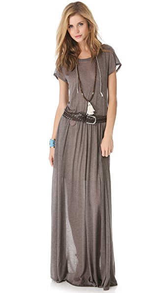 Kupi Heather haljinu online i raspordaja za kupiti Heather Maxi Tee Dress Mink online