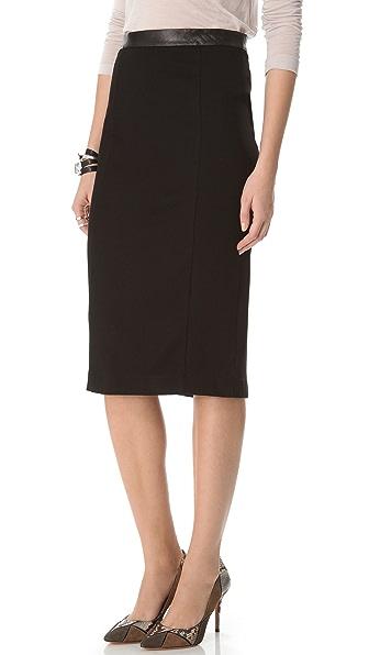 Heather Pencil Skirt