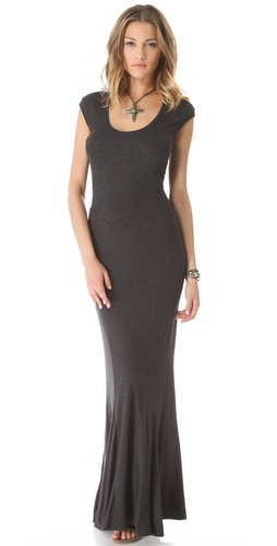 Heather Spliced Maxi Dress