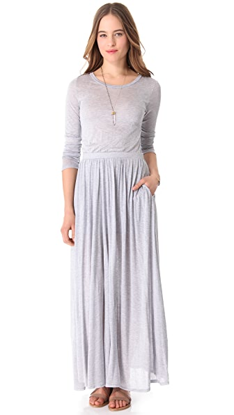 Heather Long Sleeve Maxi Dress