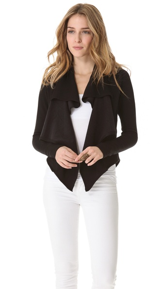 Heather Soft Collar Cardigan