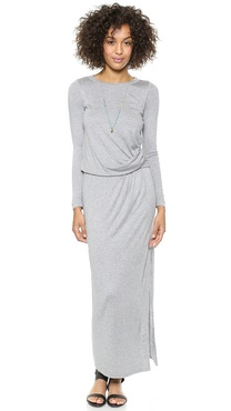 Heather Tuck Maxi Dress