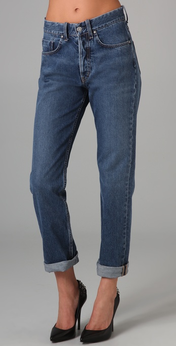 MiH Halsy High Rise Straight Leg Jeans
