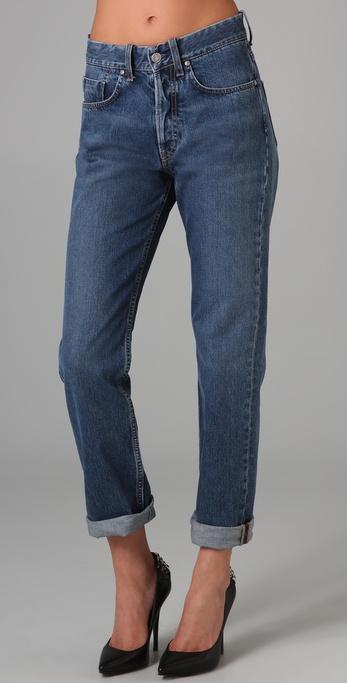 MiH Halsy High Rise Straight Leg Jeans