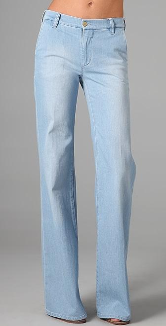 MiH Loon Bleach Wide Leg Jeans