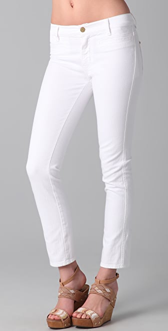 MiH Paris Cropped Slim Leg Jeans