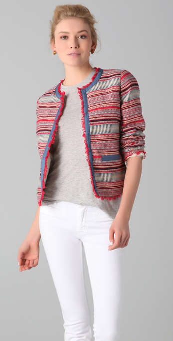 MiH Aztec Cropped Jacket