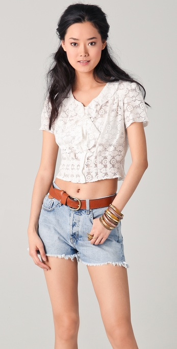 MiH Lace Blouse