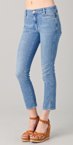 MiH Paris Cropped Jeans